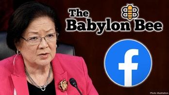 Facebook removes Babylon Bee satire mocking Sen. Hirono's treatment of Amy Barrett, says it 'incites violence'
