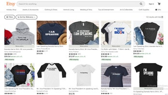 Kamala Harris-inspired shirts, fly-themed items pop up at online retailers following vice presidential debate