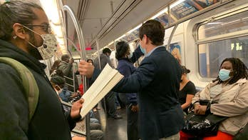 NYC's coronavirus-era subway cars fill up at rush hour; Cuomo takes few steps to enforce social distancing there