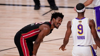 Jimmy Butler's triple-double, Lakers' sloppiness lifts Heat in Game 3