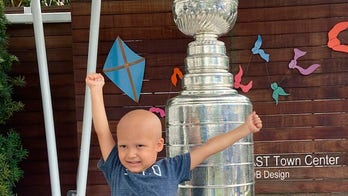 Stanley Cup visits children's cancer center in Tampa