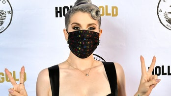 Kelly Osbourne shows off 85-pound weight loss, dons colorful 'vote' face mask while celebrating 36th birthday