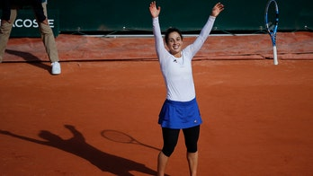 Years after anorexia, hiatus, Italian reaches French Open QF