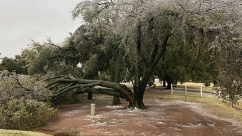 Ice storm in Oklahoma, Texas knocks out power to thousands as winter storm brings more snow