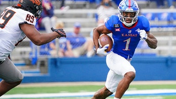 Jayhawks' running back Pooka Williams opts out of remainder of season as mom battles 'health issues'