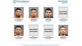 MS-13 gang members linked to 4 random killings in Virginia last year