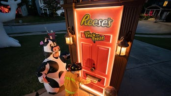 Reese's creates remote-controlled door to safely distribute candy to trick-or-treaters
