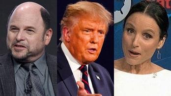 'Seinfeld' stars Jason Alexander, Julia Louis-Dreyfus mock President Trump's dancing