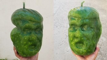 Trump-shaped fruits are in 'big demand' before election, Chinese farmer says