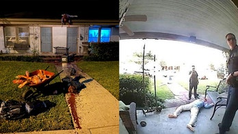 Texas man's gory Halloween decorations have police constantly visiting