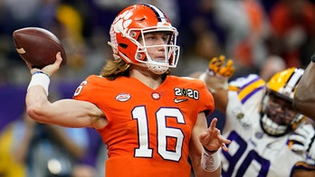 Clemson's Trevor Lawrence to miss Notre Dame game after positive coronavirus test