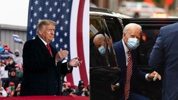 Election 6 days away: Biden back in Delaware as Trump heads to Arizona
