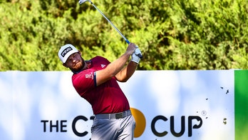 Hatton copes with jet lag to lead CJ Cup at Shadow Creek