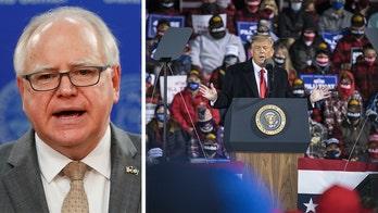 Minnesota Gov. Walz begs voters to skip campaign rallies amid coronavirus spike: 'Google the candidate'