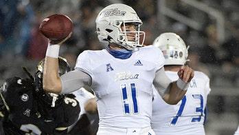 Tulsa snaps No. 11 UCF's 21-game home winning streak, 34-26