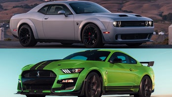 Dodge Challenger gaining on Ford Mustang in American sports car sales race