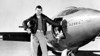Vice President Pence: The late test pilot Chuck Yeager, first to break sound barrier, makes his last flight