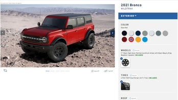 Build your dream 2021 Ford Bronco with this online tool