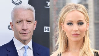 Jennifer Lawrence said she confronted Anderson Cooper after he accused her of fake Oscars fall
