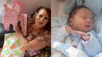 Woman shocked to give birth to son when scans said she was expecting daughter