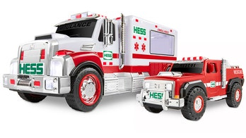 2020 Hess holiday truck honors first responders
