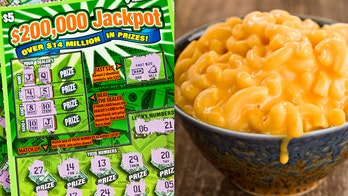 Man wins $200G lottery ticket after buying mac and cheese for dinner