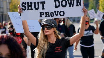 Paris Hilton protests for closure of Provo Canyon School where she claims she was abused