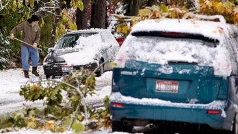 Major winter storm bringing snow, freezing rain into Plains as California faces extreme fire risk