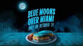Denny's to offer 'Blue Moons Over My Hammy' sandwich made with blue bread on Halloween