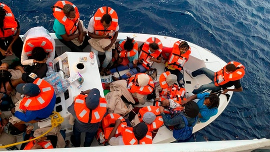 Cruise ship rescues 24 people from a sinking boat off Florida: report