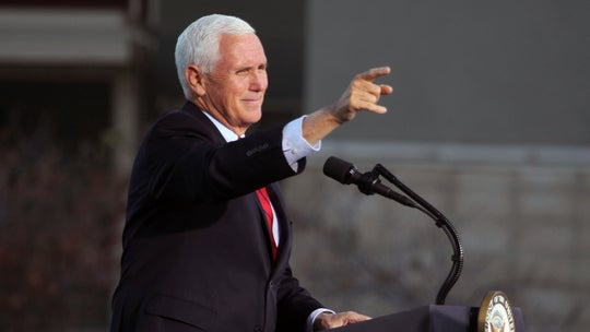 Pence returns to Arizona for final push to flip liberal-leaning cities