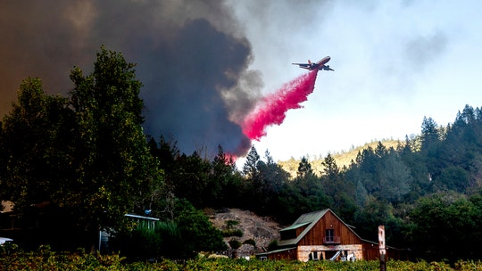 California wildfires scorch nearly 4 million acres as hot and windy weather may fuel Glass, Zogg fires
