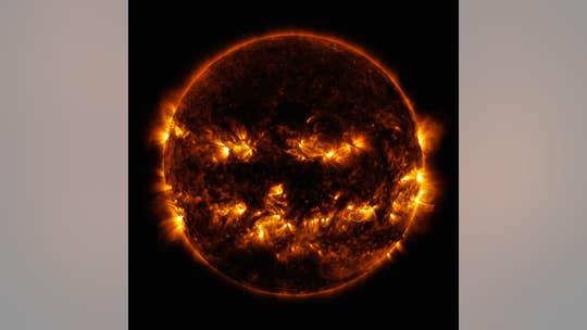 NASA image shows spooky 'Halloween' sun