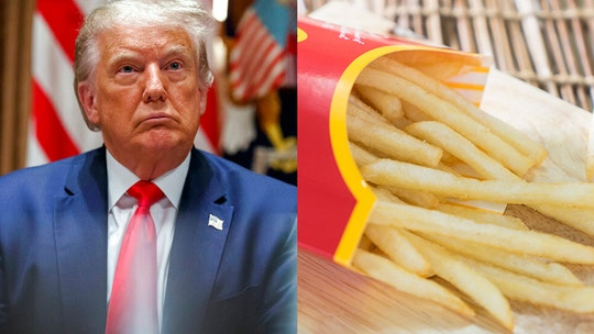 Trump suggests McDonald's french fries are responsible for keeping his hair from falling out