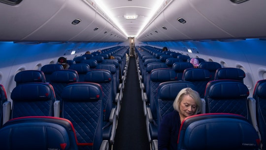 Delta trolls other airlines for not blocking middle seats through holidays, likens them to 'a haunted house'