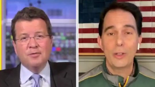 Scott Walker claims Trump has 'fighting chance' in Wisconsin, touts Favre endorsement of president