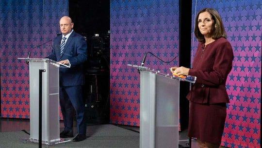 Mark Kelly's political duel with Martha McSally smashing Arizona spending records