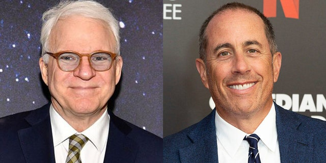 Steve Martin and Jerry Seinfeld discussed comedians getting snubbed at the Oscars.