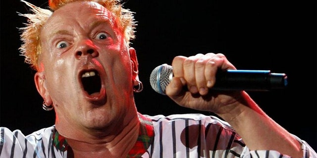 Johnny Rotten of the Sex Pistols supports Donald Trump. (Reuters)