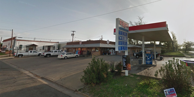 Texas Rangers are investigating a police-involved shooting that took place at this gas station in the City of Wolfe City.
