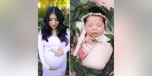 Yesenia Aguilar was killed by an allegedly impaired driver on Aug. 11; her unborn daughter Adalyn Rose was born via emergency C-section.