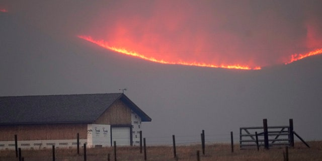 The East Troublesome Fire in Colorado forced evacuations of thousands of residents and forced the closure of Rocky Mountain National Park.
