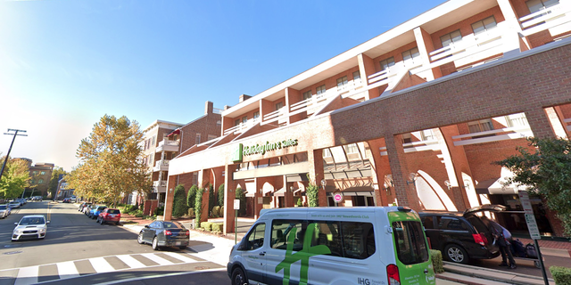 Holiday Inn in the Old Town section of Alexandria, Virginia