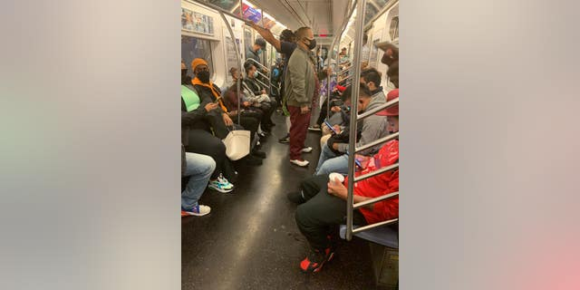 """""""The crowded conditions of New York's public transit system was one of the major drivers of their epidemic,"""" Dr. Marty Makary says."""