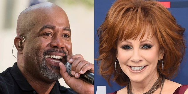 Reba McEntire and Darius Rucker are promising laughs and good music when they co-host this year's CMA Awards in November