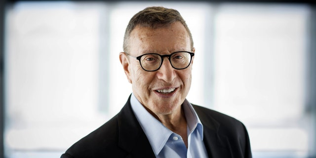 Norman Pearlstine, executive editor of the Los Angeles Times, photographed in Beverly Hills, Calif on June 17, 2018. The Los Angeles Times said Monday, Oct. 5, 2020, its executive editor, Norman Pearlstine, plans to resign his post as soon as a successor is chosen. But he'll continue as an adviser. (© 2018 Jay L. Clendenin/Los Angeles Times via AP, File)