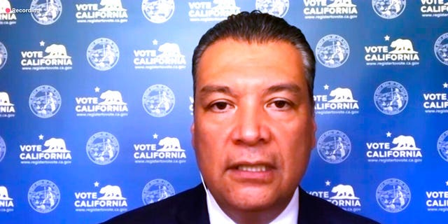 California Secretary of State Alex Padilla announces that he has issued cease-and-desist orders to the Republican Party for placing unofficial ballot collection boxes in several counties.