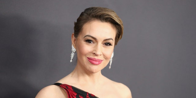 Alyssa Milano suspected on Twitter that President Trump would declare victory before all votes were counted.