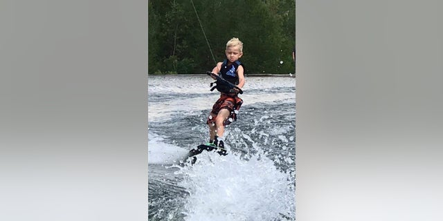Andy Free, 9, was excited for summer, his mom said.