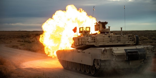 File photo - Bravo Company, 2nd Battalion, 116th Cavalry Regiment, conducts tank crew gunnery, Nov. 11, 2019 at the Orchard Combat Training Center.